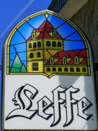 Belgian beer sign