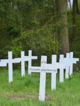 Maissin remembrance crosses
