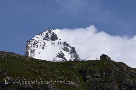 Dent Blanche and Bricola Hut