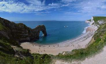 Durdle Door panorama