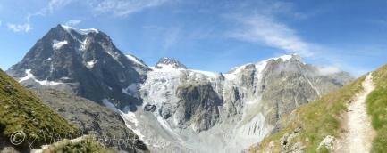 Mont Collon Panorama