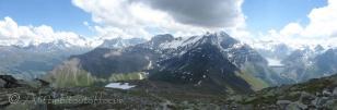 Pic d'Artsinol panoramic view