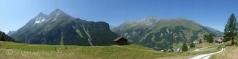 View above La Forclaz (VS)