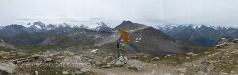 View from Cabane des Becs de Bosson