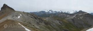 View from Pointe de la Tsevalire