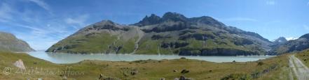 Lac des Dix panorama