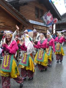 Turkish dancers