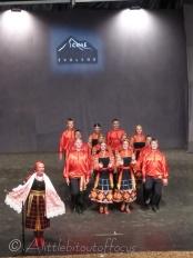 Uzbekistan singer and dancers