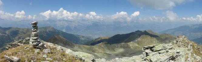 View from Bec de la Montau