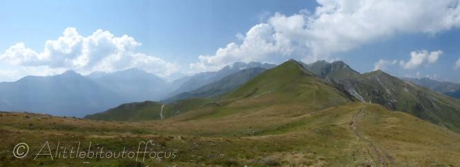 View from La Tsermetta