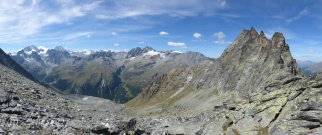 View from the Col