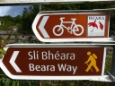 Beara Way sign