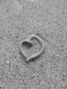 A few seconds later, a part of this sand cast was washed away - it broke my heart ! ;-)