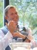 Very happy bridegroom