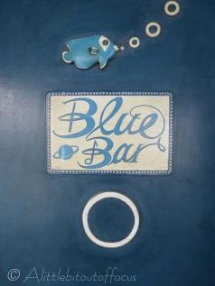 Blue Bar sign