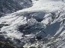 Glacier hole