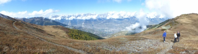 Rhone valley panorama