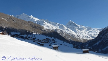 Couronne de Breona and Dent Blanche