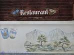Restaurant mural