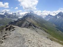 Col du Torrent ridge