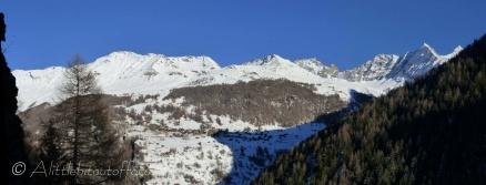 Ridge above La Forclaz
