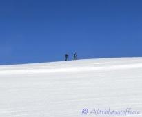 Ski Tourers on the horizon