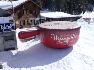 Giant Fondue pot