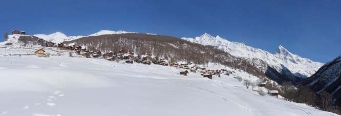 La Forclaz panorama