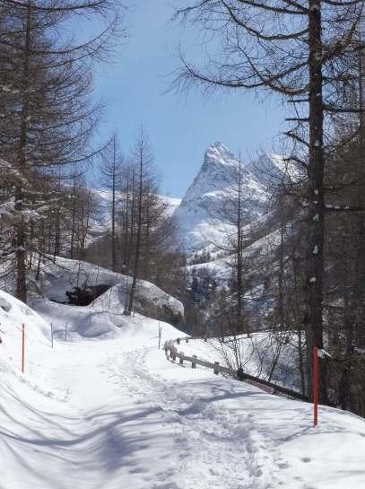 Path to Mont Miné