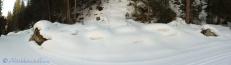 Snowy lumps