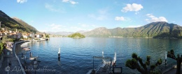Hotel view of Lake Como