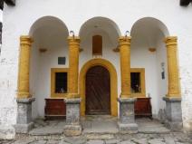 Lannaz church entrance
