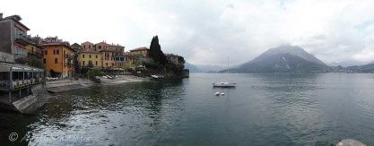 Varenna and lake view