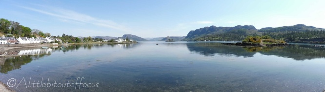 1 Plockton bay panorama
