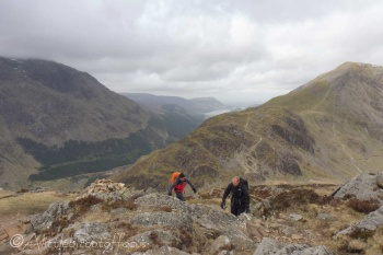 10 Pete and Colin summiting Haystacks