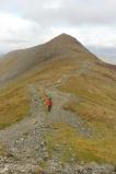12 Pete ascending Grisedale Pike