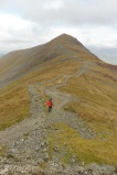 12 Pete ascending Grisedale Pike