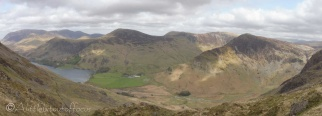 12 Robinson (centre) and Fleetwith Pike (R)