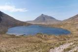 13 Loch Coire an Ruadh-staic with Beinn Damh behind