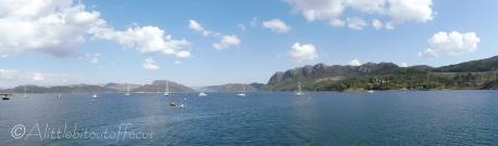 14 Plockton bay boats
