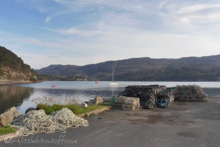 14 Shieldaig harbour view