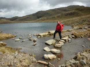14 Stepping Stones at Sprinkling Tarn