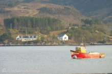 15 Boat in Loch Shieldaig
