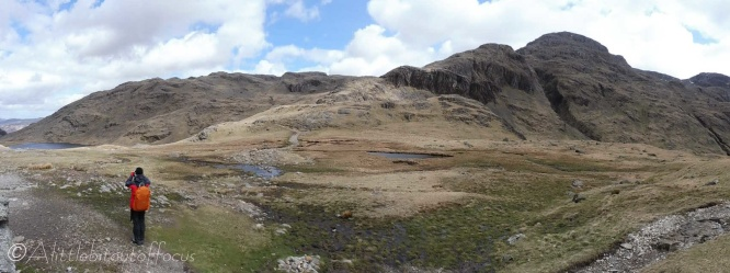 16 Styhead Tarn (L) and Great End