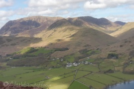 18 Buttermere - with our route tomorrow behind