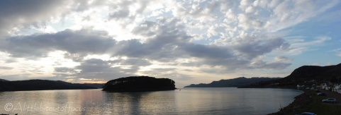 18 Sunset over Shieldaig Island