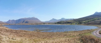 2 View south over Loch an Loin