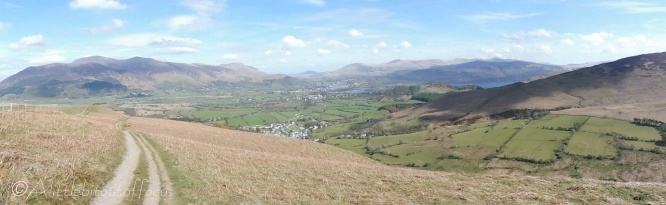 20 Skiddaw (L) & Coledale down to the right