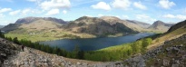 21 Grasmoor (L), Robinson (C), Fleetwith Pike (R) above Buttermere