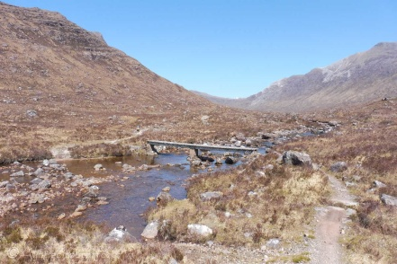 3. Footbridge over Fionn-abhainn